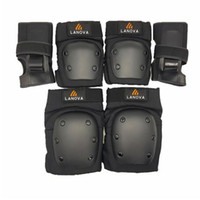 Wholesale skate protective gear for sale - Group buy 6pcs set Adults Skating Protective Gear Knee Elbow pads wristguard Cycling Skateboard Ice Skating Protector Roller Size