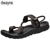 Wholesale roman slippers for sale - Group buy Sandals Men Sandalias Hombre Gladiator Sandals for Male Summer Roman Beach Shoes Flip Flops Slip on Flats Slippers Slides