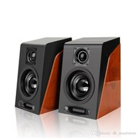 Wholesale smallest mp3 player resale online - Fashion MiNi Subwoofer Restoring Ancient Ways Desktop Small Computer PC Speakers With USB mm Interface
