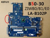 Wholesale lenovo laptop motherboards for sale - KEFU For Lenovo B50 Laptop Motherboard ZIWB0 B1 E0 LA B102P Tested