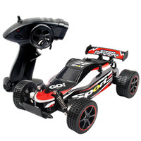 Wholesale two wheel electric car resale online - Electric ghz kmh High Speed Classic Toys Hobby wd Two Wheel Drive Scale Radio Remote Control Off Road Vehicle Rc Racing Car