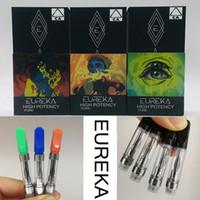 Wholesale disposable cartridges resale online - EUREKA Vape Cartridge Packaging High Potency Carts ml ml Ceramic Atomizer Empty Disposable Vaporizer Pens