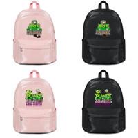 bitkiler vs zombiler sırt çantaları toptan satış-Bitkiler vs Zombies logo (8) Tasarımcı satan üreticiler sırt çantası çanta omuz çantaları erkek kadın Naylon Rahat Laptop Sırt çantası