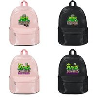 pflanzen gegen zombies rucksäcke großhandel-Plants vs Zombies logo (8) Hersteller verkaufen Designer-Rucksack Handtaschen Umhängetaschen Herren Damen Nylon Casual Laptop Rucksack Tasche