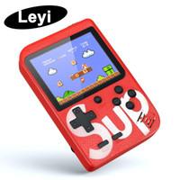 2g мобильные телефоны оптовых-SUP Мини Ручной игровой консоли Retro портативный Video Game Console может хранить 400 игр 8 бит 3,0-дюймовый Цветной ЖК-Cradle Design