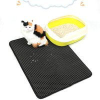 Pet Small Pad Placemat Cat Litter Mat Dog Puppy Cleaning Feeding Dish Bowl Table Mats Wipe Easy Cleaning Profit Small Pet Products Houses, Kennels & Pens