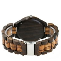 ingrosso uomini orologi ovali-Orologio in legno di lusso per uomo donna movimento al quarzo giapponese orologio da polso quadrante a forma ovale a tre mani in legno cinturini per orologi di alta qualità