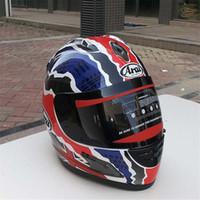 Wholesale xl blue motorcycle helmet for sale - Group buy Arai helmet Rx7 Japan s top RR5 pedro motorcycle helmet racing full face capacete motorcycle Capacete Moto