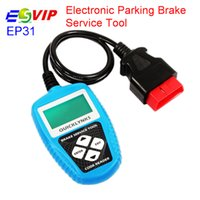 Wholesale epb service tool resale online - Electronic Parking Brake Service Tool EPB EP31 Deactivates activates SBC Changes brake fluid bleeds system