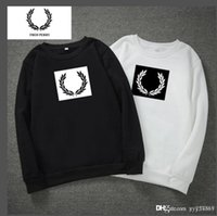 Wholesale rice led resale online - New men s designer autumn and winter brand men s rice ear print sweater lead the trend of men s fashion tide brand sweat