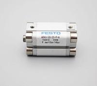 cilindro compacto venda por atacado-Qtd 5 Por Lote Original FESTO Compact Cilindro ADVU-20-25-P-A Novo Na Caixa Frete Grátis Expedido