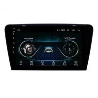 skoda octavia radio bluetooth al por mayor-Unidad principal del coche sistema de navegación GPS 10.1 pulgadas Android 9.0 para la cámara 2015 -2017 SKODA Octavia UV Soporte retrovisor Bluetooth USB