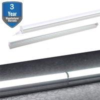 süper parlak ledli ışıklar t5 toptan satış-LED T5 Entegre Armatür, Süper Parlak Beyaz LED Tüpler, led Mağaza Işık, Floresan Tüp Işık Armatür Değiştirme