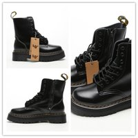 Wholesale british knights boots for sale - Group buy Cool lady Martin boots for British knight vintage locomotives Cowhide build and thick base thick root