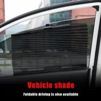 Wholesale shade curtain cloth for sale - Group buy Folding Car Sun Shade Shield Nylon Environmental Protection Mesh Cloth Summer Auto Side Window UV Protection Curtain Sunshade