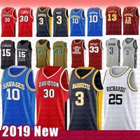 adler-basketball-trikots  groihandel-30 Stephen NCAA Curry Davidson Wildcats College Basketball Jersey 3 Dwyane 10 Dennis 25 Wade Rodman RICHARDS Marquette golden Eagles HERR