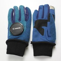 Wholesale blue cycle gloves for sale - Fleece Gloves North Touch Screen Outdoor Sports Full Finger Gloves Winter Warm Anti Slip Women Men Cycling Windproof Gloves OOA6020