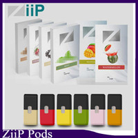 Wholesale pack lab for sale - Group buy Authentic Ziip Labs Vape Cartridge Flavors ml Prefilled Pod CT Pack JUUL Compatible Vapor Cartridges Original