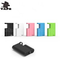 Wholesale best vape mod box kits for sale - Group buy New Products Vibo for oil kit with USB Charger E cigarette Oil thread best quality vape cartridges box mod Andrew Vape DHL free