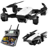 rc drone cámara gps al por mayor-SMRC S20 Gyro Mini GPS RC Drone con cámara de gran angular de 110 grados 6 ejes 2.4G Altitude Hold RC Quadcopter modelo portátil ABS