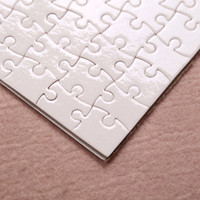 Wholesale pc gifts for sale - Group buy A5 size DIY Sublimation Puzzles Blank Puzzle Jigsaw Heat Printing Transfer Local Return Gift pc