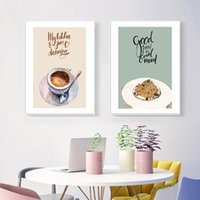 Wholesale dining room art paintings resale online - Restaurant Kitchen Decoration Canvas Print Painting Chinese Style Buns Poster Modern Minimalist Dining Room Wall Art Picture