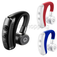Wholesale hands free phone ear resale online - Good Quality K5 Hands free Wireless Bluetooth Earphone Car Hands free BT Headsets Phone Earphones with Mic