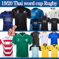 novos copos venda por atacado-Copo do rugby do mundo Irlanda África do Japão Austrália do Sul Fiji Jersey Nova Zelândia 2019 novos homens camisa de rugby NRL S-5XL Tailândia