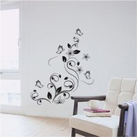Wholesale Elegant Mural Removable Wall Stickers Decals Nursery Room Home Decoration Wall Sticker only