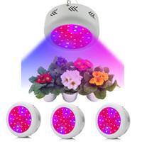 ir led paneli toptan satış-Bitki LED Işık Büyümek Tam Spektrum UV IR Lamba Büyüyen UFO Paneli Ev Kapalı Sera Sebze Çiçek Tohumları Topraksız Büyüyen 300 w