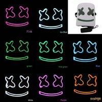 ingrosso copricapo costume-DJ Marshmello Maschera maschere di lattice costume cosplay Full Face Carnaval Halloween Prop Copricapo Accessori bambini copricapo High-end giocattoli