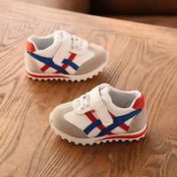 ingrosso caricamenti del cotone della neve del crochet del bambino-2019 0 a 3 anni ragazzi e ragazze scarpe sportive moda bambino scarpe casual neonato prima passeggiata sneakers bambino antiscivolo