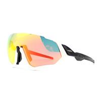 yeni stil lensler toptan satış-Moda-Marka YENI stil 3 Lens Bisiklet Gözlükleri Bisiklet Bisiklet Güneş Gözlüğü Uygun yol dağ bisiklet polarizati lens moda gözlük