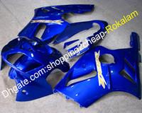 zx12r blau großhandel-02 03 04 ZX 12R Verkleidung für Kawasaki Ninja ZX-12R 2002 2003 ZX12R Blue Motorbike Verkleidung (Spritzguss)