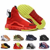 ingrosso hockey leggero-N3XT L3V3L Cream White Bahia Captain Gum PE Mens Scarpe da basket per uomo stivali sportivi Designer sneaker City Sock Shoes Size 46