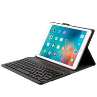 Wholesale keyboard ipad pro for sale - Group buy Luxury designer leather case for ipad with wireless bluetooth keyboard classic protective cover for ipad pro inch