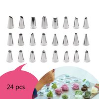 Wholesale cake tools set for sale - Group buy Nozzles Set Cookie Ice Cream Mouth Set Cream Confectionery Pastry Nozzle Baking Cupcake Cake Decoration Tool