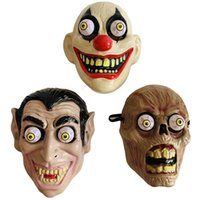 Wholesale mask horror zombie for sale - Group buy Halloween Horror Mask Vampire Clown Zombie Eye Ball Masks Cosplay Costume Theme Makeup Performance Masquerade Full Face Party Mask