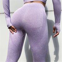 ingrosso donne che indossano pantaloni stretti di yoga-Pantaloni sportivi di yoga delle donne Sexy Dersigner Track Pants Stretto di alta vita Leggings Donne Jogging Sport indossare abbigliamento fitness atletico