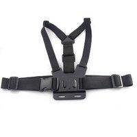 caméra de montage fixe achat en gros de-Ceinture de ceinture pectorale pour Gopro hero 5 4 Caméra d'action Harnais de ceinture pectorale pour Go Pro SJCAM SJ4000 sport cam fix