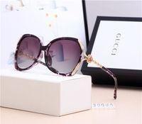 uv kutuları toptan satış-Higt lüks tasarımcı boy kadın Güneş Gözlüğü Elmas gözlük moda ünlü Gözlük uv kutusu GQ-2 ile polarize Güneş Gözlüğü