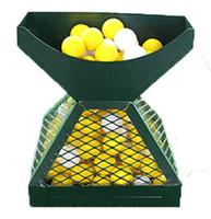llave azul al por mayor-Nuevo diseño pirámides forma pelota de golf apilador envío gratis
