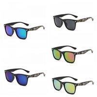 gedruckte brillen großhandel-Shark Sonnenbrille Camouflage Printing Eyewear Männer Persönlichkeit UV-Schutz Farben Mix Outdoor Sonnenschutz Beliebte 3 5gt F1