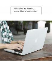 12-дюймовые сенсорные экраны оптовых-Новый матовый чехол для ноутбука + защитная пленка для экрана (подарок) + клавиатура (подарок) для Macbook Pro Retina Air Touch Bar 11 12 13 15 дюймов A2159