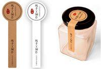 Wholesale zakka paper resale online - 300 Zakka Style Long Round Lollipop Design Kraft Paper Sticker Handmade Products Seal Sticker Baking Gift Seal Labels