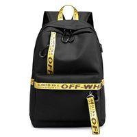 mochilas para laptop al por mayor-Tela impermeable Mujer Mochila diaria Bolso de mochila escolar de impresión casual para niñas universitarias Portátil Dayback