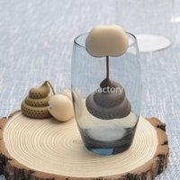 Silicone Butt Tea Infuser Loose Spoon Holds Tea Leaf Strainer Herbal Spice Filter Diffuser Coffee Tools Party Gift