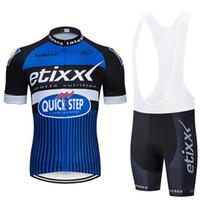 etixx jersey toptan satış-Ropa ciclismo Etixx Hızlı adım Bisiklet Jersey bisiklet giyim kısa kollu Elbise Bisiklet maillot bisiklet giyim yaz MTB sportwear