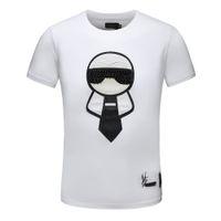 kadınlar için sevimli tee gömlek toptan satış-Yeni Moda T Shirt Casual T Gömlek Erkekler Tees Sevimli Gözler Nakış Streetwear Lüks T Shirt Erkek Kadın Kısa Kollu Tişörtleri