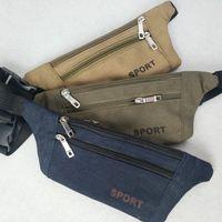многофункциональный наружный мешок талии оптовых-Высококачественная многофункциональная спортивная спортивная сумка для тела на открытом воздухе, мужская сумка из плотной талии, роскошная сумка для бега